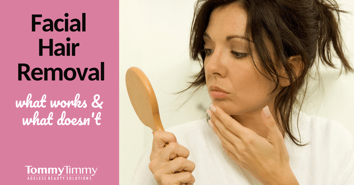 Facial Hair Removal For Women Over 50: What Works & What Doesn't?
