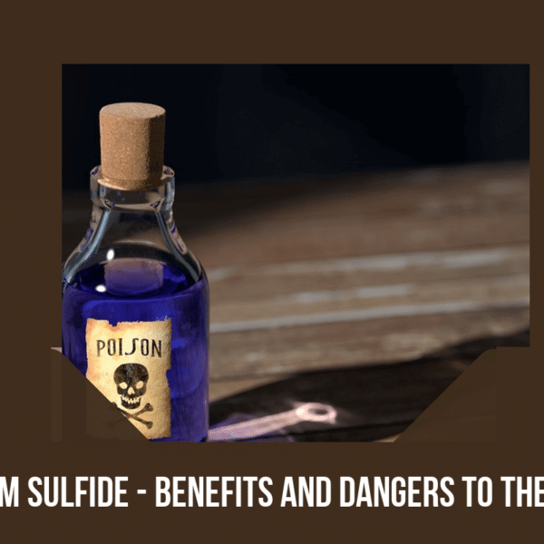 barium sulfide and the body