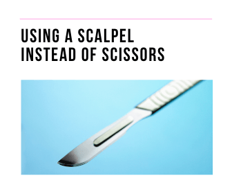 Picture of a scalpel
