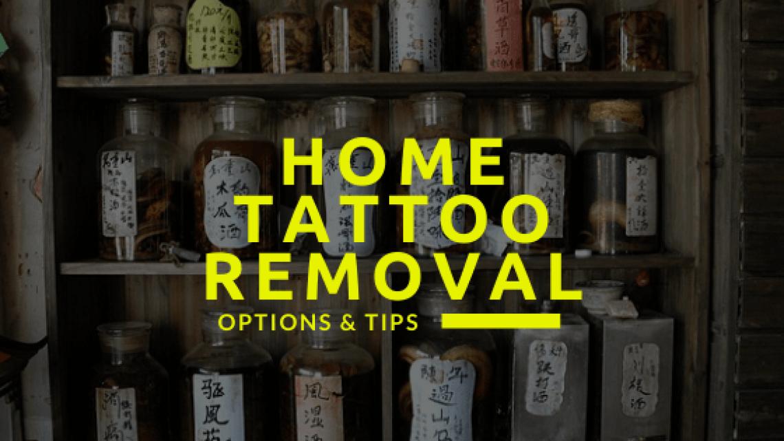 DIY Tattoo Removal